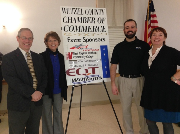 Williams celebrated another successful year for the Wetzel County Chamber of Commerce by sponsoring the Celebration Dinner.