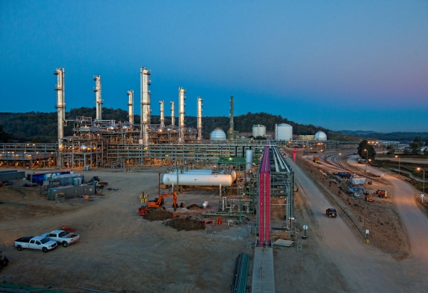 Williams' Harrison Hub Fractionation Plant in the Utica shale.