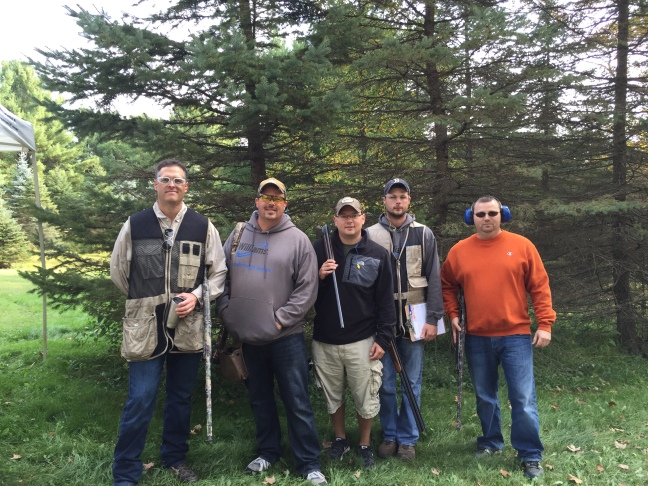 One one of Williams' teams participating in the clay shoot benefiting Lackawanna College's School of Petroleum and Natural Gas.