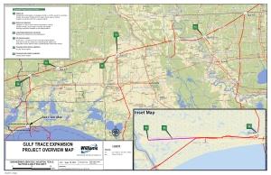 Gulf Trace Map