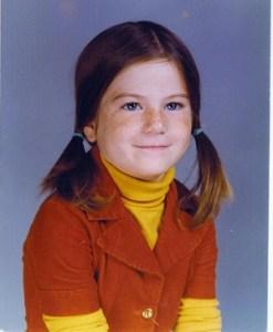 Sara Delgado: 3rd Grade circa 1975
