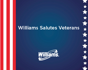 Williams salutes Veterans