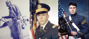 photo of 3 service member including Bill