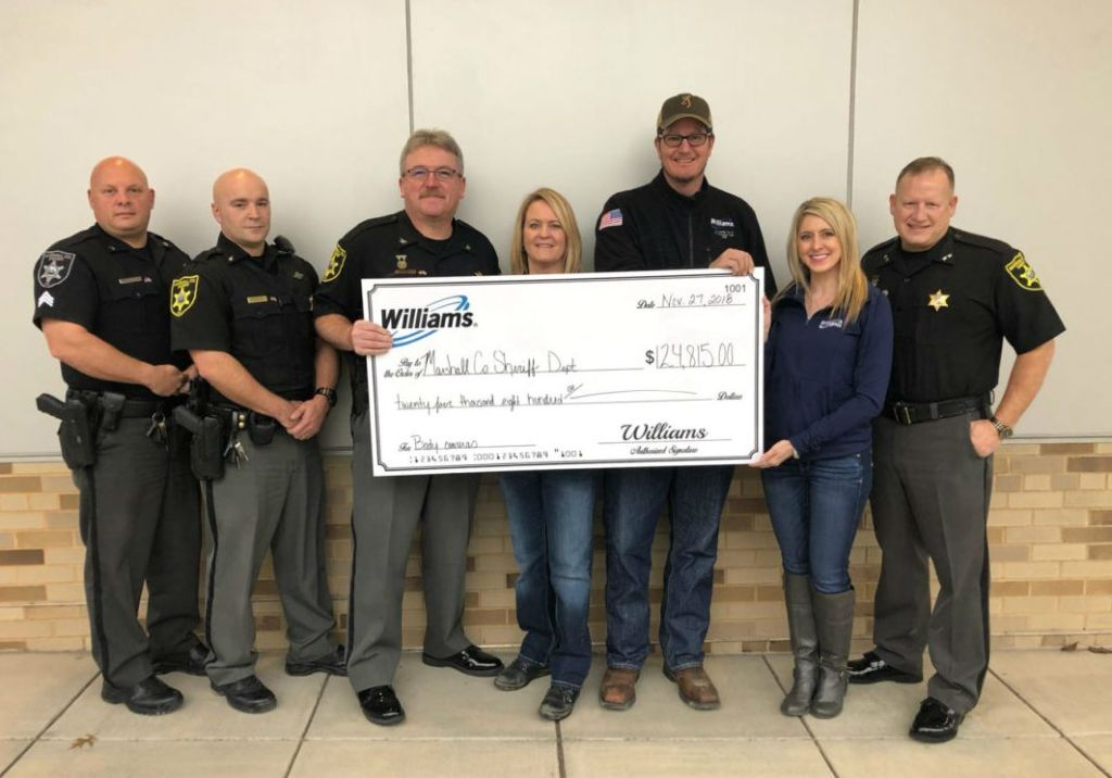 West Virginia Sheriff's office receives donation for body cameras