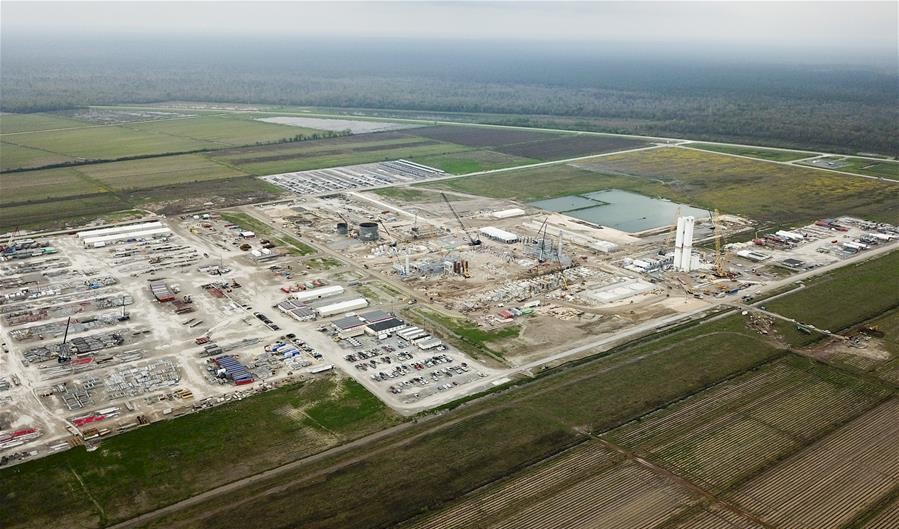 Project to serve Louisiana chemical plant placed into service