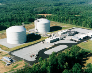 Natural gas storage facility reaches operational milestone