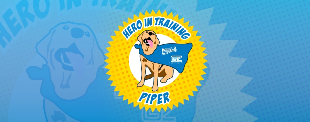 Piper to the rescue. Pooch passes national certification