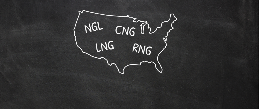 NGL, LNG, CNG and RNG. What do these mean?