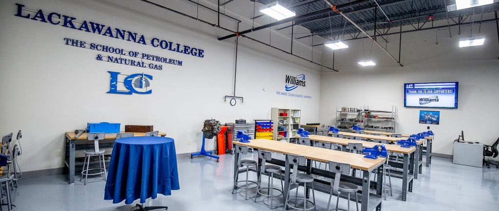 New Williams lab provides hands-on learning for Lackawanna College students